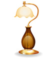 Classic lamp vector image vector image