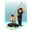 concept of paying tax vector image vector image