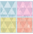Diamond shaped pattern Abstract EPS10 vector image vector image