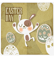 Rabbit in easter day