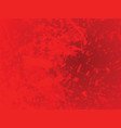 red abstract blots background vector image vector image