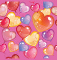seamless valentines day pattern 10 vector image