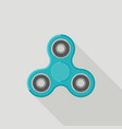 spinner flat icon vector image