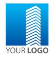 template mark company vector image