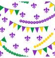 seamless pattern for carnival festival vector image