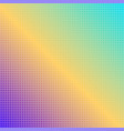 abstract square rainbow dotted background vector image vector image