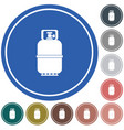 camping gas bottle icon flat icon isolated vector image