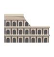 colosseum structure icon vector image