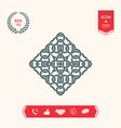 geometric arabic pattern logo