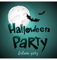Halloween Party message design background
