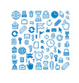 pixel icons isolated collection of 8bit graphic vector image