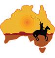 Australian Horseman vector image