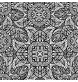 black and white seamless pattern of abstract vector image