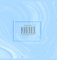 blue smooth marble texture background vector image vector image