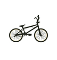 BMX Bike Black Silhouette