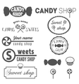 collection vintage logo and logotype elements vector image