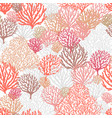 sea reef corals seamless pattern marine abstract vector image vector image