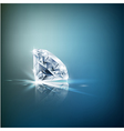 Shiny diamond background vector image vector image