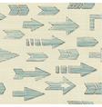 Various arrows vector image vector image