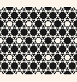 abstract geometric seamless hexagons pattern vector image vector image