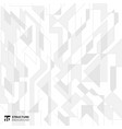 abstract lines structure white and gray background vector image