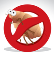 bed bug vector image