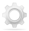 gear 01 vector image vector image