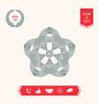geometric oriental arabic pattern for your design
