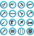 Home repair and renovation icon set vector image vector image