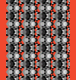 seamless polygonal patterns vector image vector image