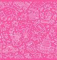 Usa seamless pattern vector image