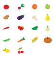Fruits and vegetable vector image