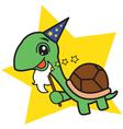 Wizard Turtle vector image