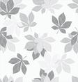 Background of chestnut leaves vector image