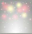 background with stars and lens flares vector image