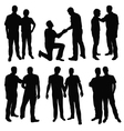 gay men vector image