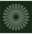 geometric hipster circle vector image vector image