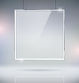 Glass Window Picture Frame vector image vector image