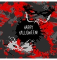 Scary Invitation for Halloween Party vector image vector image