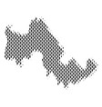 tilos greek island map population demographics vector image vector image
