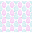 pattern eggs2 vector image
