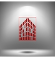 Buildings icon for company vector image vector image