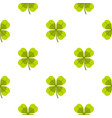 clover pattern flat vector image vector image