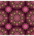 Vintage seamless dark purple pattern vector image