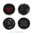 hand drawn decorative charcoal scribble texture vector image