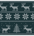 christmas jumper vector image vector image
