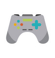 gamepad for videogames vector image vector image