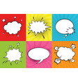 social chat vector image vector image