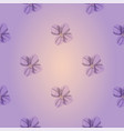 soft purple seamless pattern with beautiful vector image vector image