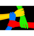 Unity in Diversity vector image